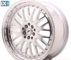 Japan Racing Wheels JR10 Machined Silver 19*8.5
