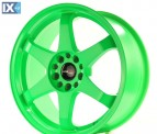 Japan Racing Wheels JR3 Neon Green 18*8