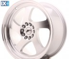 Japan Racing Wheels JR15 Machined Silver 18*8.5