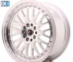 Japan Racing Wheels JR10 Machined Silver 18*8.5