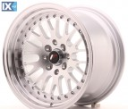 Japan Racing Wheels JR10 Machined Silver 15*9
