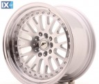 Japan Racing Wheels JR10 Machined Sil 16*9