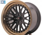 Japan Racing Wheels JR10 Black+Bronze 16*9