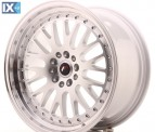 Japan Racing Wheels JR10 Machined Silver 18*9.5