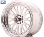 Japan Racing Wheels JR10 Machined Silver 18*10.5