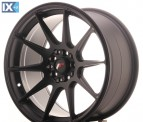 Japan Racing Wheels JR11 Matt Black 17*9