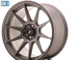 Japan Racing Wheels JR11 Matt Gun Metal 17*9