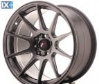 Japan Racing Wheels JR11 Hiper Black 17*9