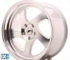 Japan Racing Wheels JR15 Machined Silver 18*9.5