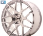 Japan Racing Wheels JR18 Silver Machined 19*8.5