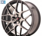 Japan Racing Wheels JR18 Black Machined 19*8.5
