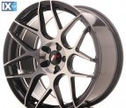Japan Racing Wheels JR18 Black Machined 19*9.5