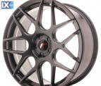 Japan Racing Wheels JR18 Hiper Black 20*8.5