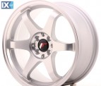 Japan Racing Wheels JR3 Matt Silver Machined 17*8