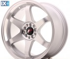 Japan Racing Wheels JR3 Matt Silver Machined 18*9