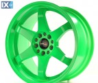 Japan Racing Wheels JR3 Neon Green 18*9