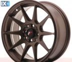 Japan Racing Wheels JR11 Matt Bronze 16*7