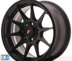 Japan Racing Wheels JR11 Flat Black 15*7