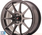 Japan Racing Wheels JR11 Hiper Black 17*7.25