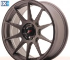 Japan Racing Wheels JR11 Matt Gun Metal 17*7.25