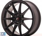 Japan Racing Wheels JR11 Flat Black 18*7.5