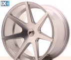 Japan Racing Wheels JR20 Silver Machined 19*11