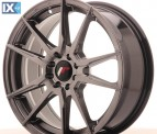 Japan Racing Wheels JR21 Hiper Black 17*7