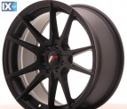 Japan Racing Wheels JR21 Matt Black 17*8