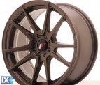 Japan Racing Wheels JR21 Matt Bronze 17*8