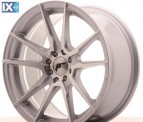 Japan Racing Wheels JR21 Silver 17*8