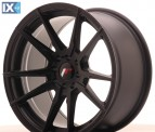 Japan Racing Wheels JR21 Matt Black 17*9