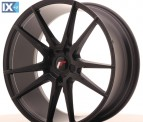 Japan Racing Wheels JR21 Matt Black 20*8.5