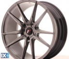 Japan Racing Wheels JR21 Hiper Black 20*8.5