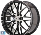Japan Racing Wheels JR28 Gloss Black Machined Face 19*8.5