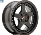 Japan Racing Wheels JR6 Matt Black 16*7