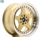 Japan Racing Wheels JR6 Gold 16*8