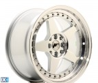 Japan Racing Wheels JR6 Silver Machined Face 17*9