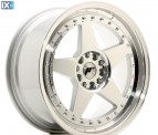 Japan Racing Wheels JR6 Silver Machined Face 18*8.5
