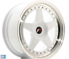 Japan Racing Wheels JR6 White 18*8.5