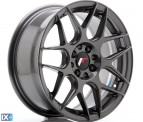 Japan Racing Wheels JR18 Hyper Gray 16*7