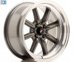 Japan Racing Wheels JR19 Gun Metal 16*8