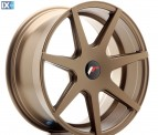 Japan Racing Wheels JR20 Bronze Black 18*8.5