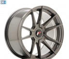 Japan Racing Wheels JR21 Hyper Gray 17*9