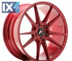 Japan Racing Wheels JR21 Platinum Red 18*8.5