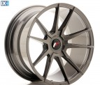 Japan Racing Wheels JR21 Hyper Gray 18*9.5