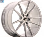Japan Racing Wheels JR21 Silver Machined 21*10