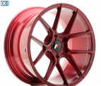 Japan Racing Wheels JR30 Blank Platinum Red 18*9.5