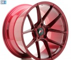 Japan Racing Wheels JR30 Platinum Red 19*11