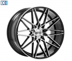 1AV WHEELS ZX4 BLACK & POLISHED 20*9