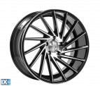 1AV WHEELS ZX1 SILVER & POLISHED  18*8